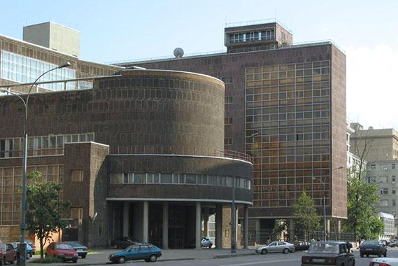 здание центросоюза. Проспект Сахарова