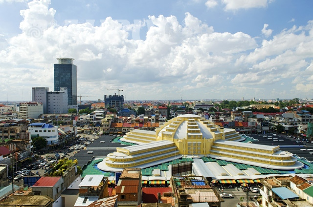 Пномпень, Центральный рынок, 2013