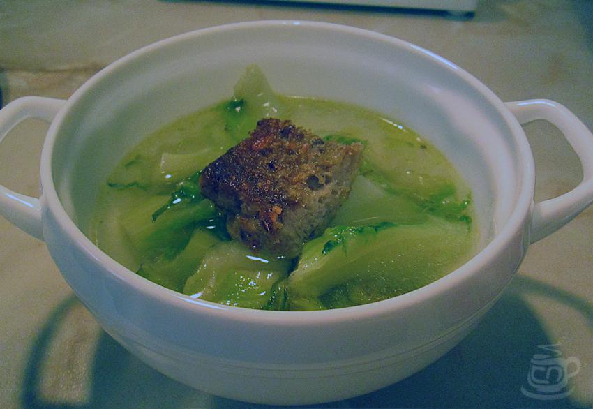 Суп из листьев цветной капусты, 2013