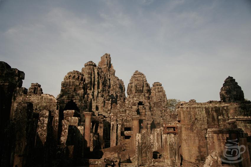 Камбоджа, Ангкор, Байон, 2013
