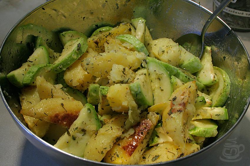 Кабачки с картофелем, 2013