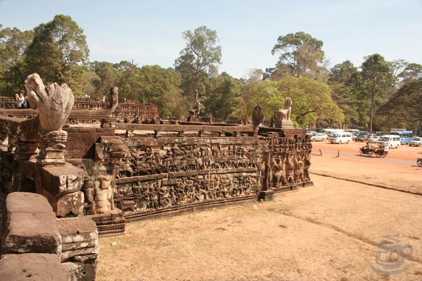Камбоджа, Ангкор, Терраса слонов, 2013