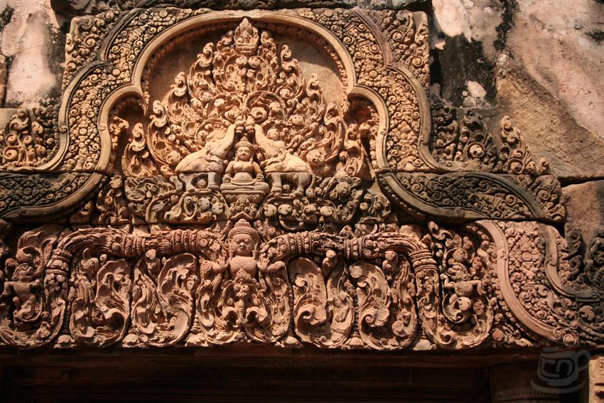 Камбоджа, Ангкор, Бантей Срей, 2013