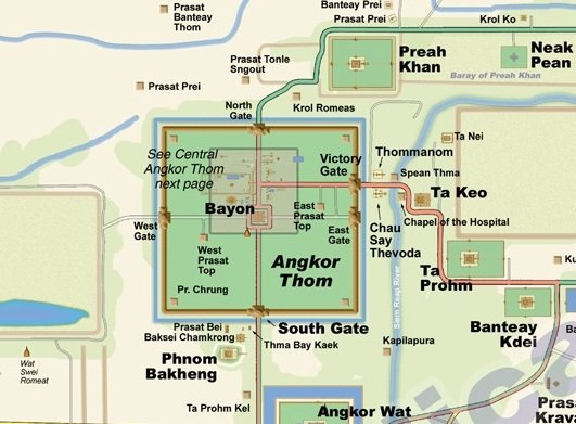 Камбоджа, Ангкор Том