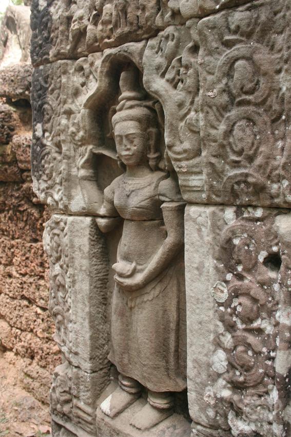 Камбоджа, Ангкор, Та Сом, 2013