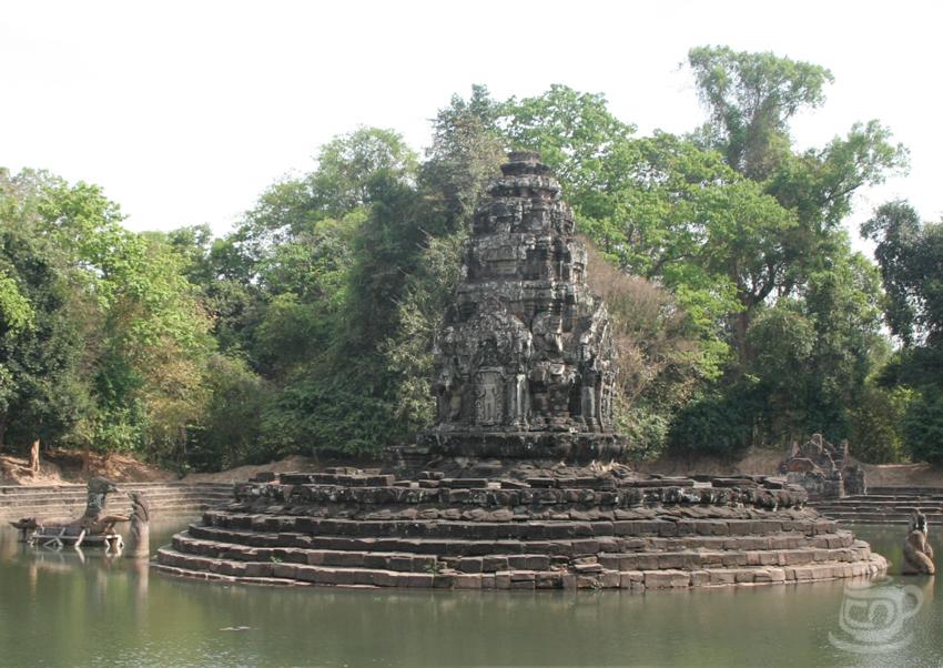 Камбоджа, Ангкор, Неак Пеан, 2013