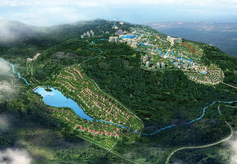 Проект застройки Бокора