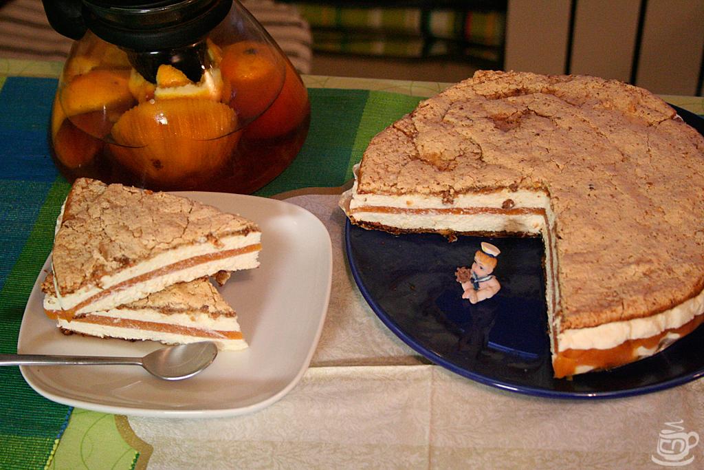 Чизкейк с абрикосовым желе, 2012