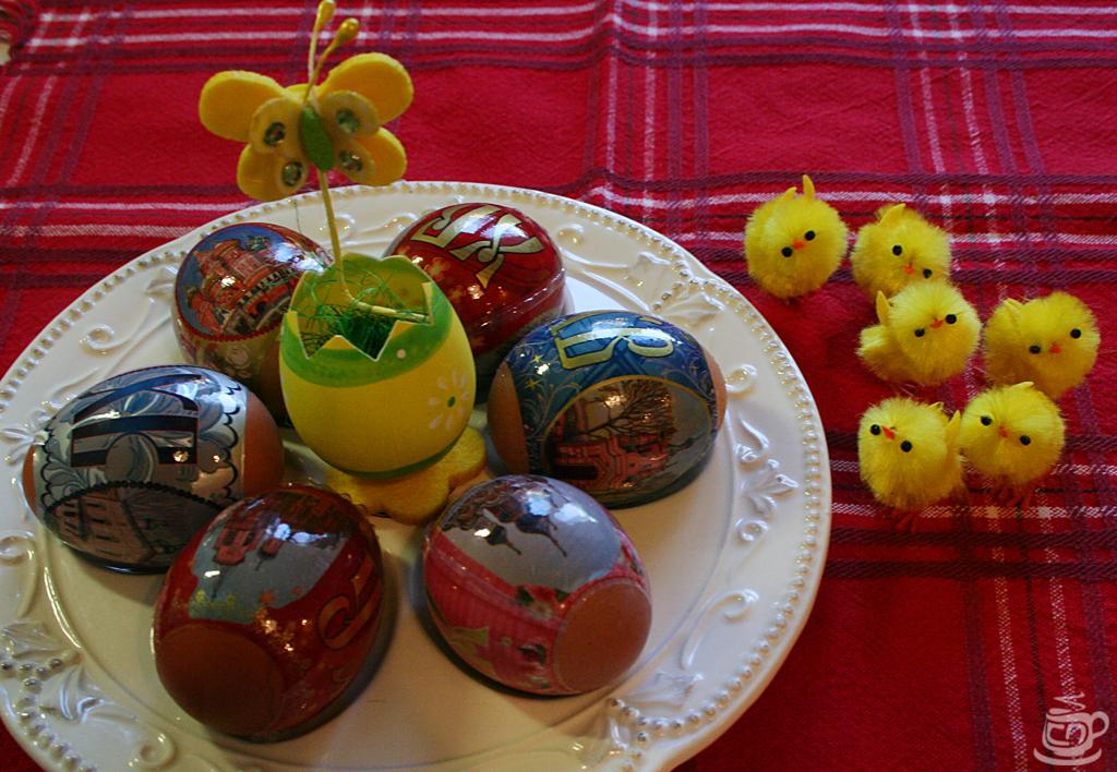 Пасхальные яйца, 2014