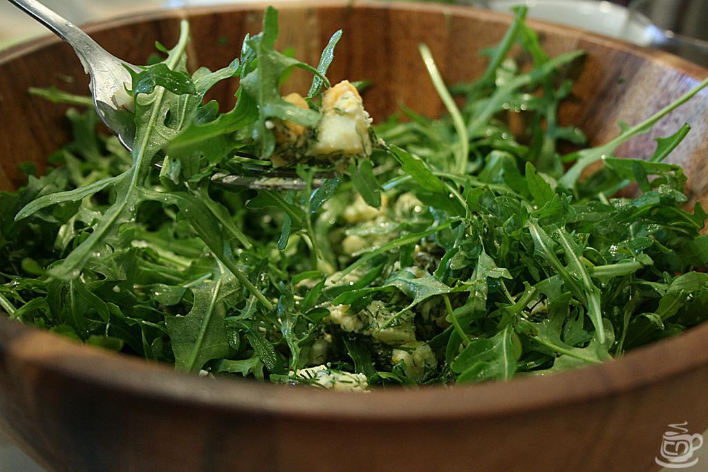 Зеленый салат с рукколой, 2014