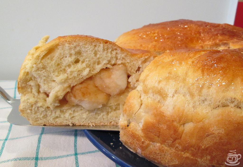 Постный пирог с яблоками, 2014