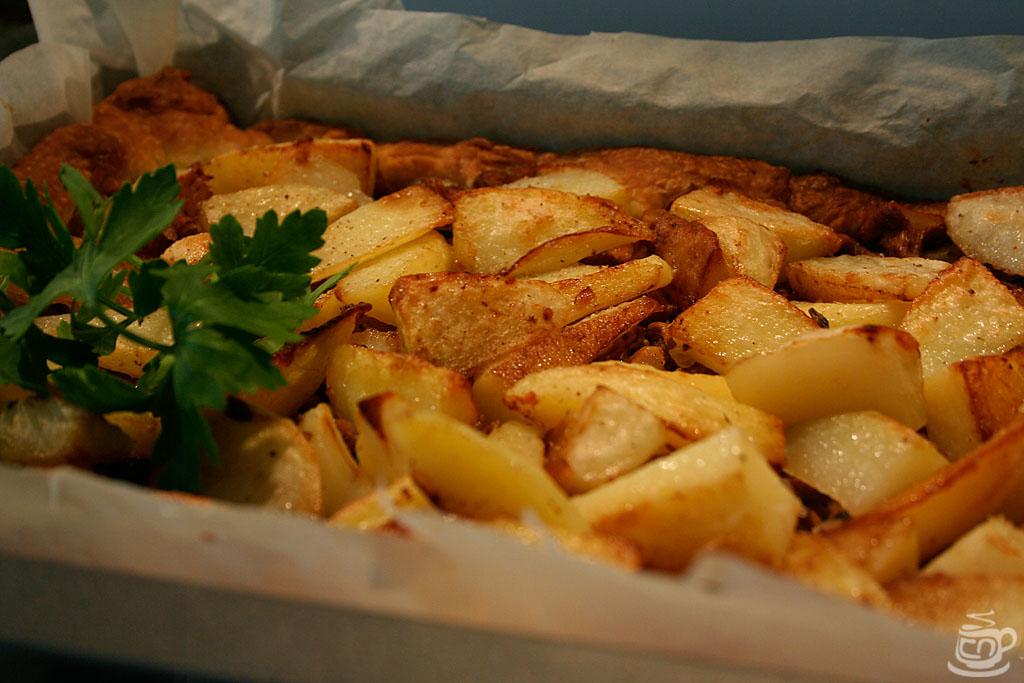 Картофельный пирог с грибами, 2014