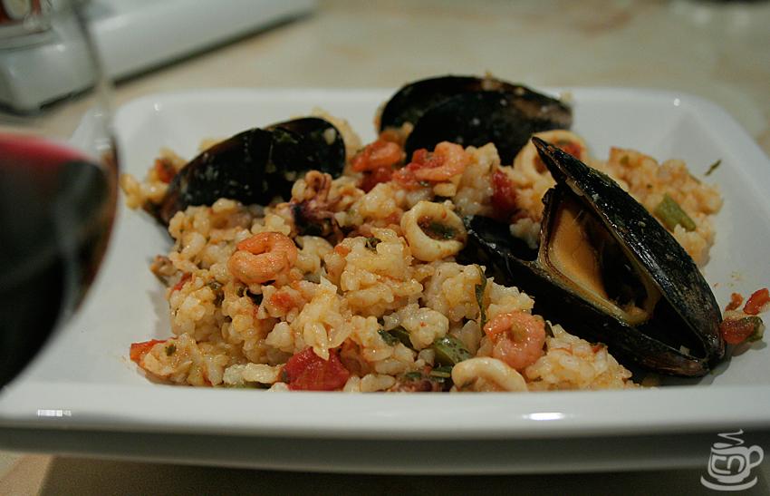 Паэлья с морепродуктами, 2014