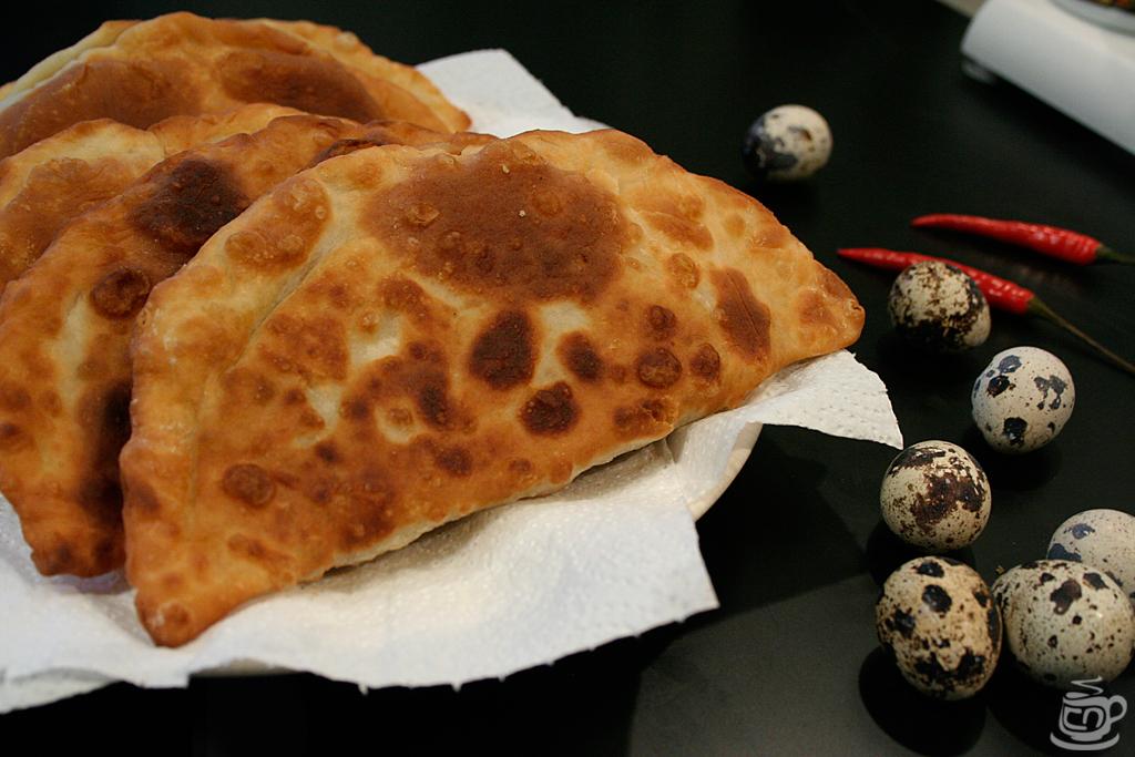 Тунисские пирожки с перепелиными яйцами, 2014