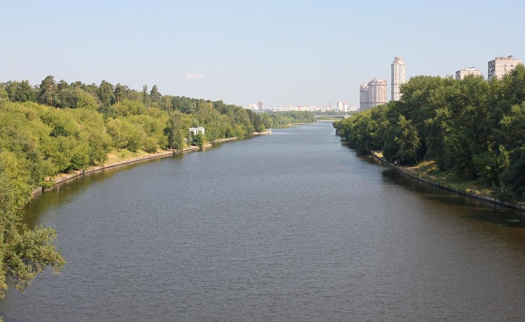 Москва, канал Хорошевское спрямление