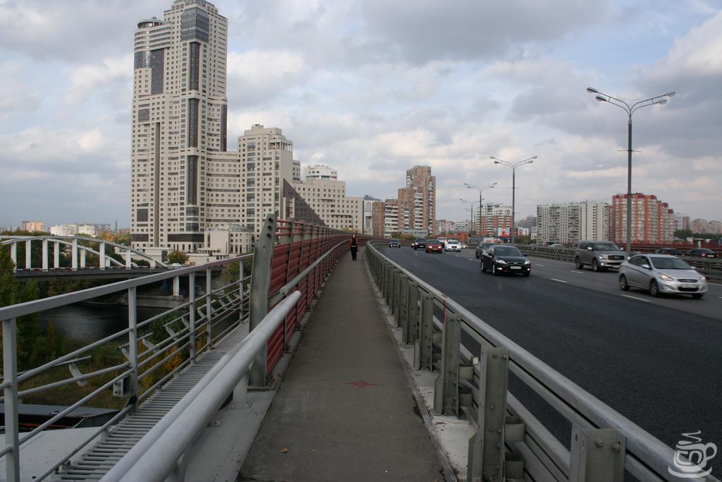 Москва, Живописный мост, 2014